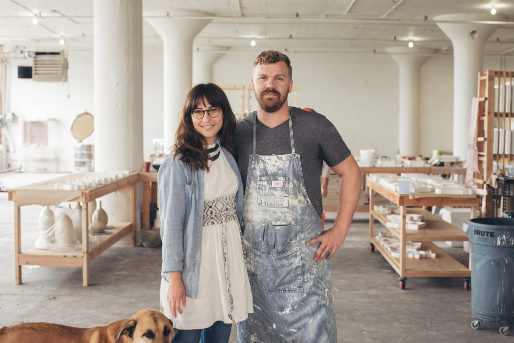 Ceramicists Kaitlyn And Ryan Lawless Selected As Craft